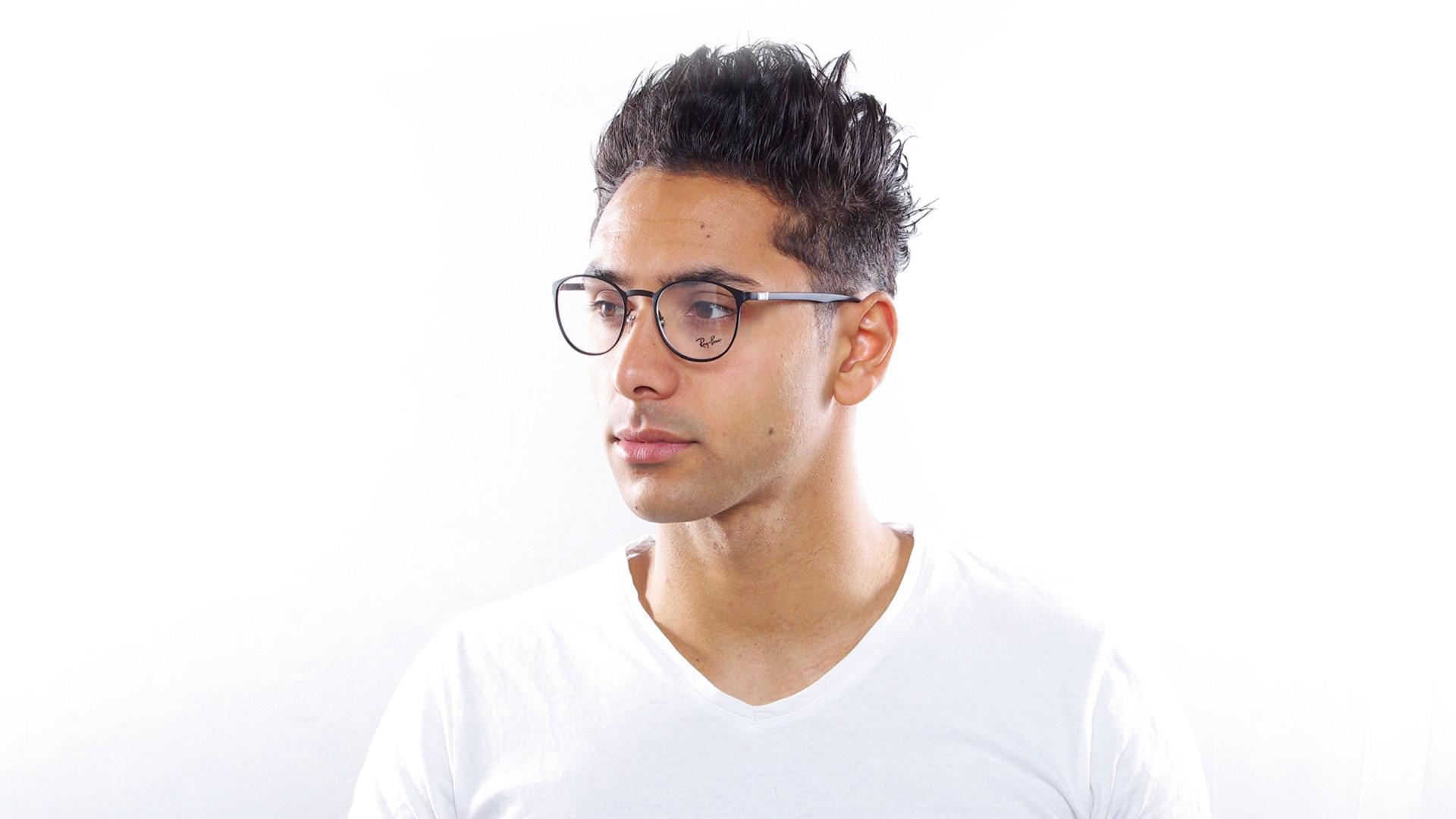 5917ca2f31 Eyeglasses Ray-Ban RX6355 RB6355 2503 50-20 Black Mat Medium