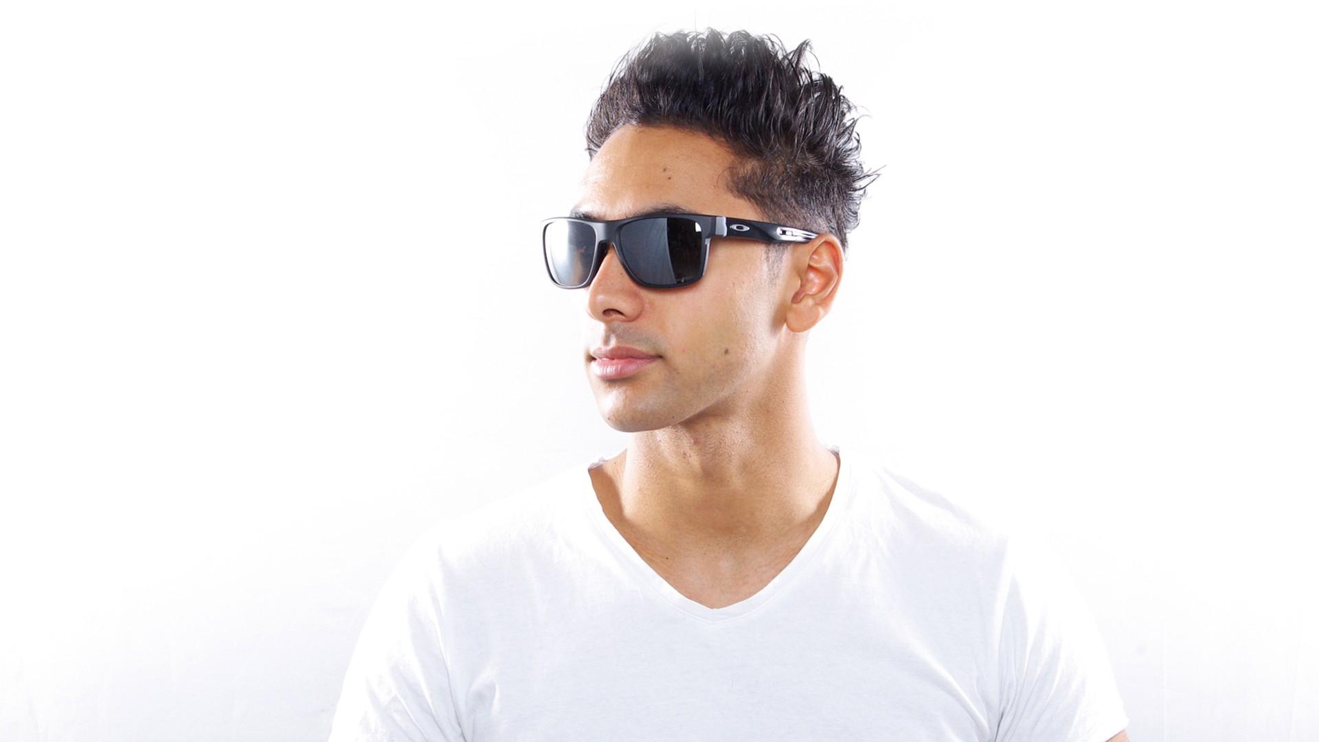 62c9b1b6000 Sunglasses Oakley Crossrange Black Mat Prizm OO9361 06 57-17 Medium  Polarized Flash