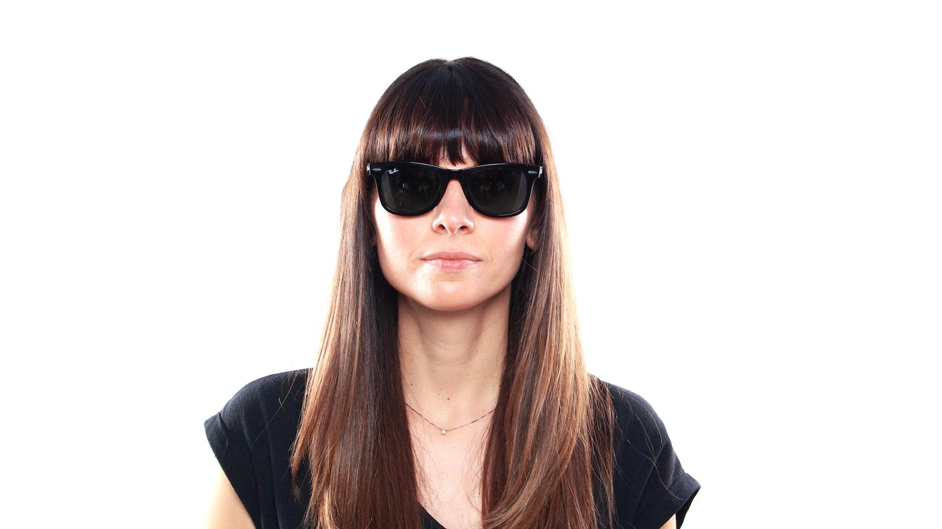ad374016d Ray-Ban Wayfarer Ease Sunglasses Black RB4340 601 50-22 | Visiofactory