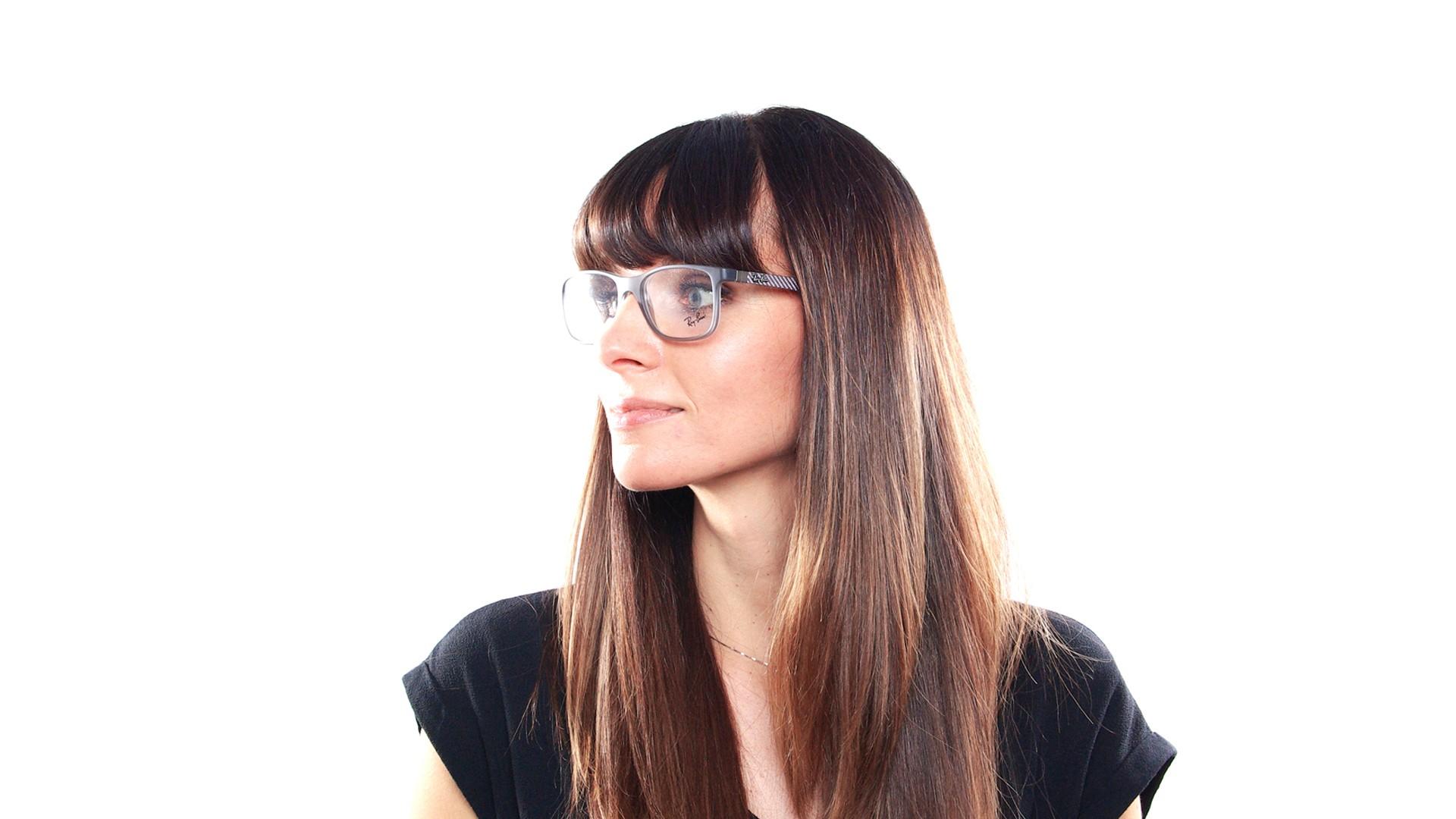 2a31120a703 Eyeglasses Ray-Ban RX8903 RB8903 5244 53-18 Grey Matte Medium