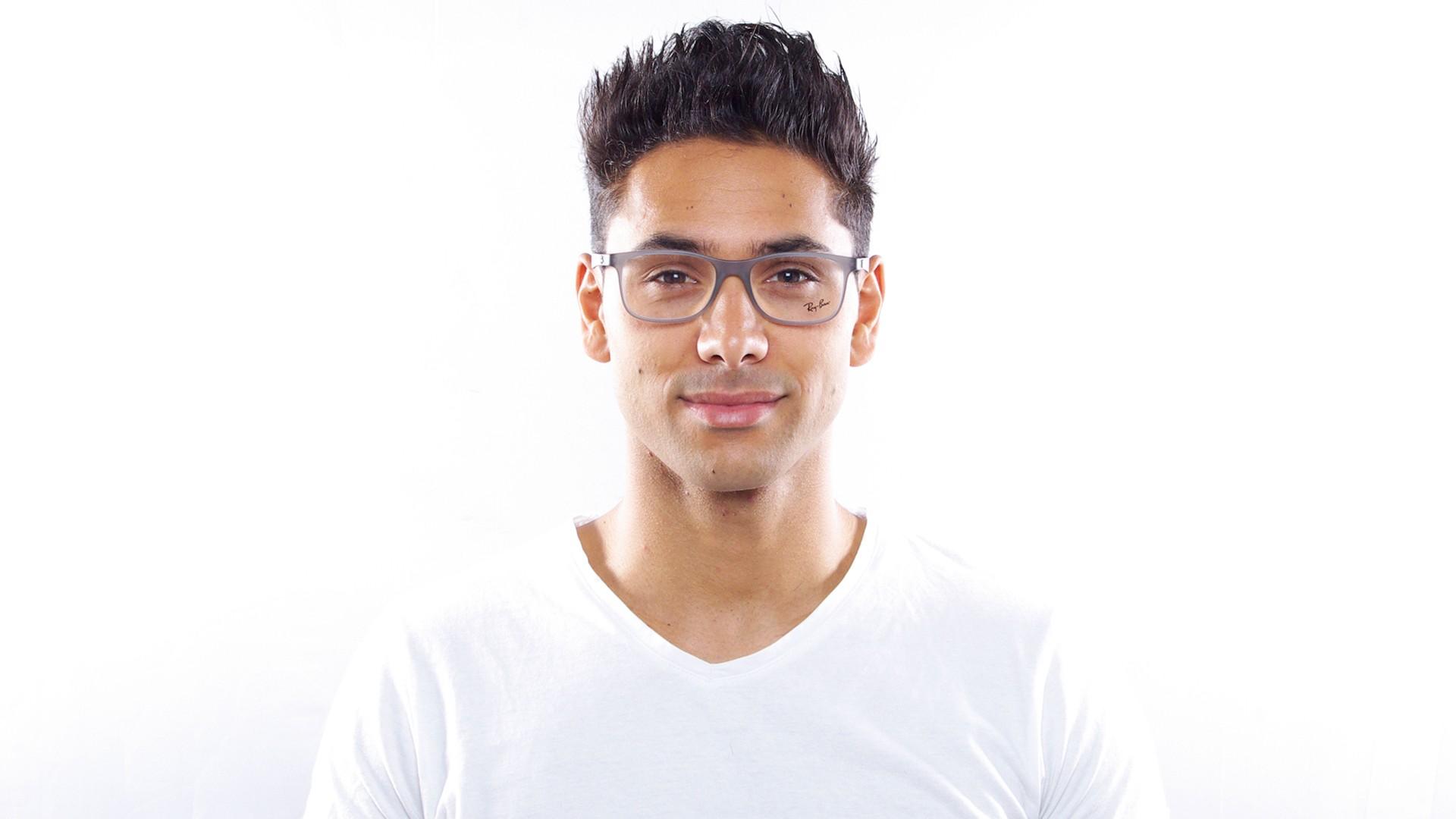 d6a1e0fa23 Eyeglasses Ray-Ban RX8903 RB8903 5244 53-18 Grey Matte Medium