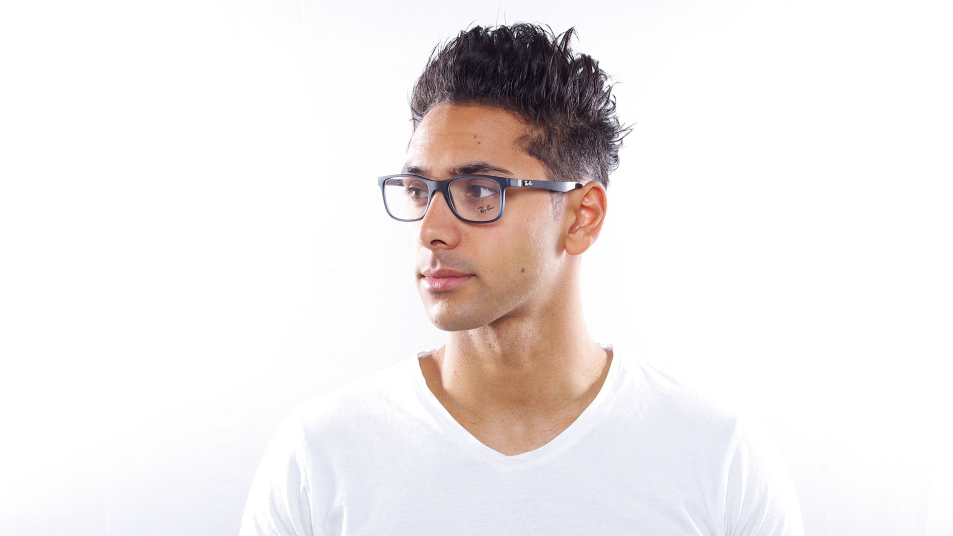 7f2a9555c7 Eyeglasses Ray-Ban RX8903 RB8903 5262 53-18 Blue Matte Medium