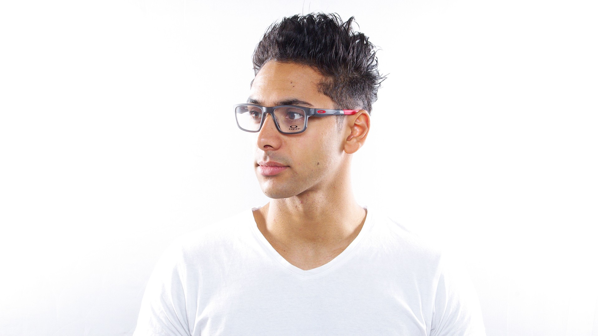 f787a5a0287 Eyeglasses Oakley Hyperlink Grey Matte OX8078 05 52-18 Medium