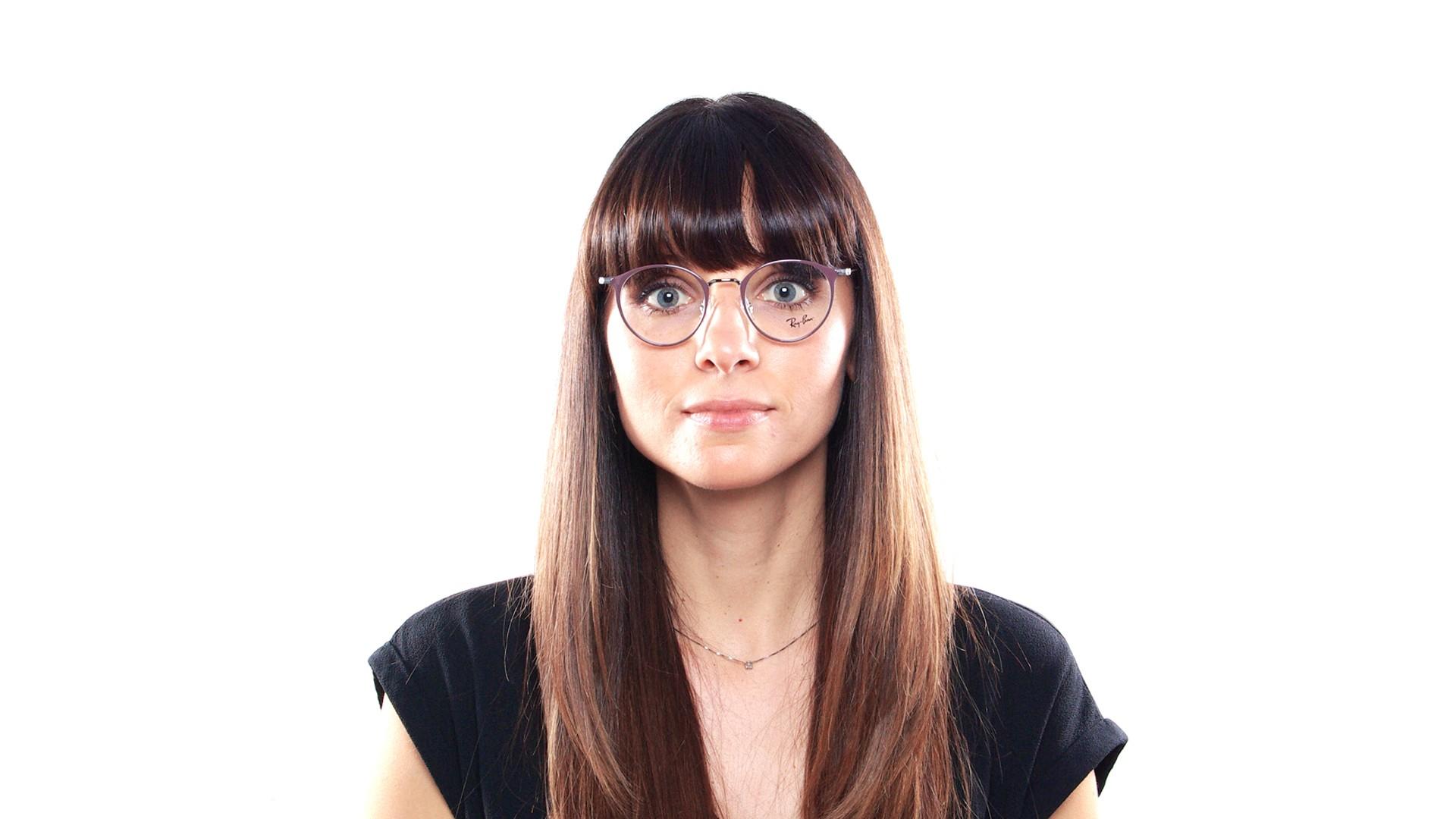 00ea6341a5 Eyeglasses Ray-Ban RX6378 RB6378 2907 47-21 Purple Small