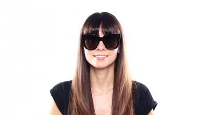 Lunettes de soleil Céline CL41444 06Z2M Femme Noir