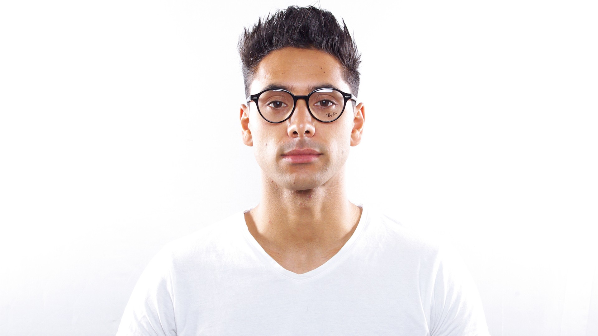 137ca195d5 Eyeglasses Ray-Ban Dean Black RX7118 RB7118 2000 50-19 Medium