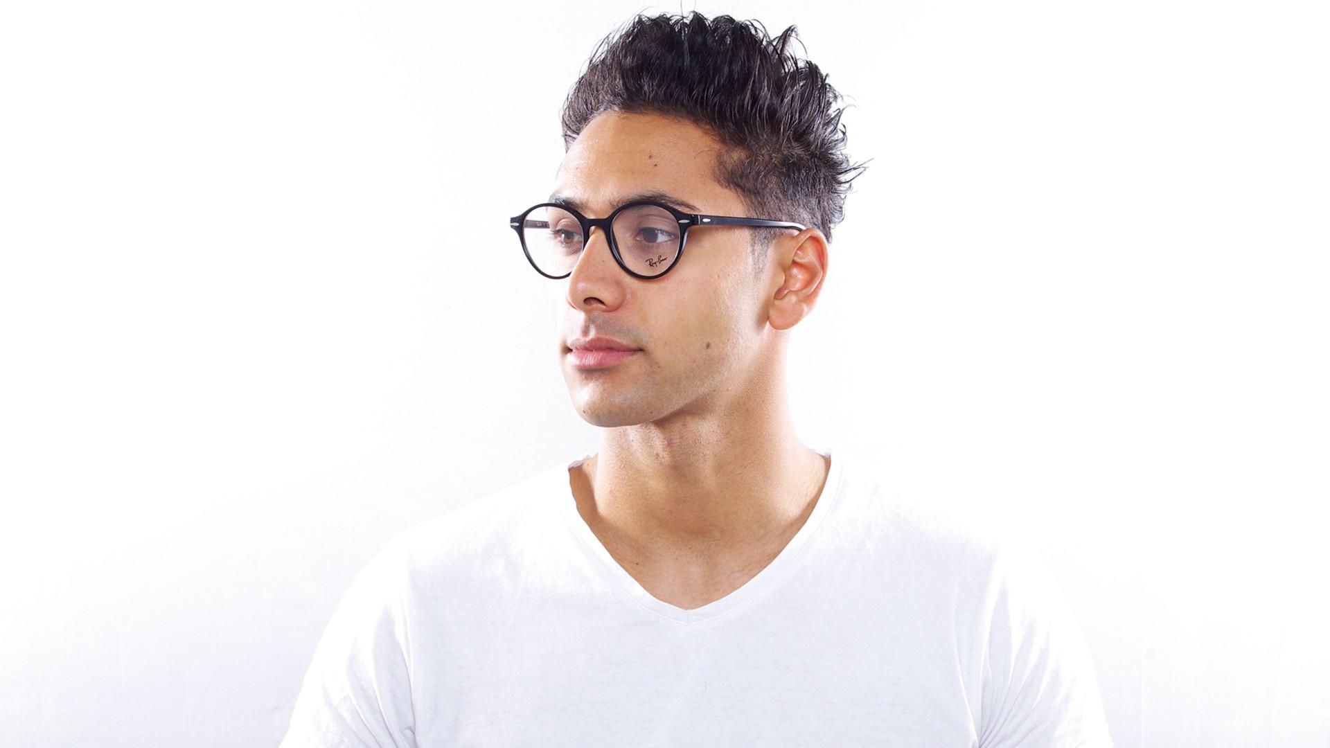 f93201424eb Eyeglasses Ray-Ban Dean Black RX7118 RB7118 2000 50-19 Medium