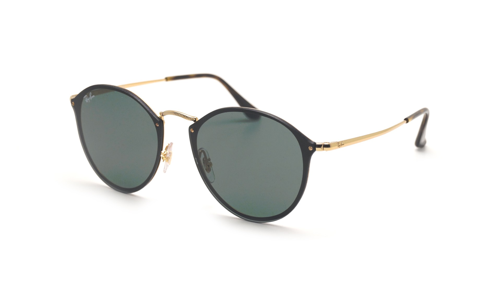 Sunglasses Ray-Ban Round Blaze Gold RB3574N 001 71 59-14 Large 5e8effd970
