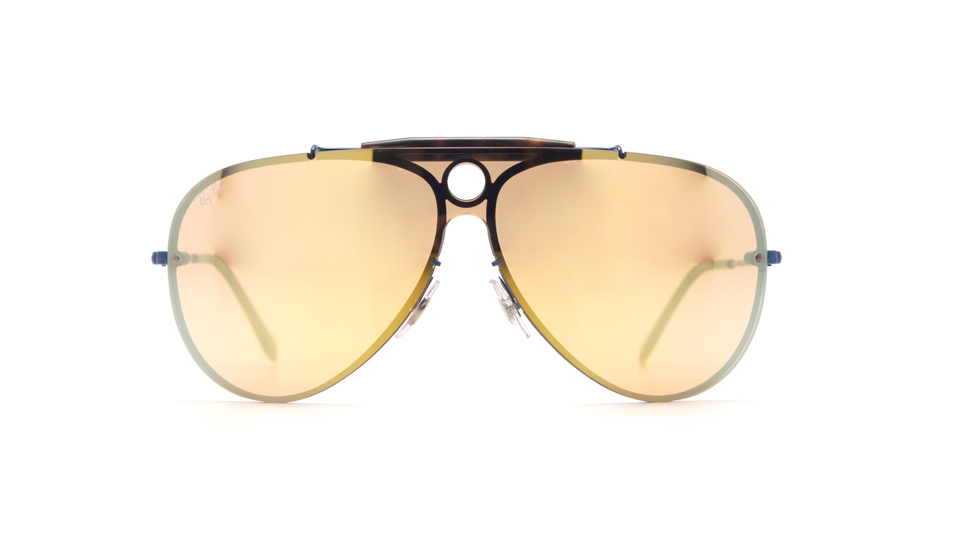 b409a34ffc9 Sunglasses Ray-Ban Shooter Blaze Blue RB3581N 90387J Large Mirror