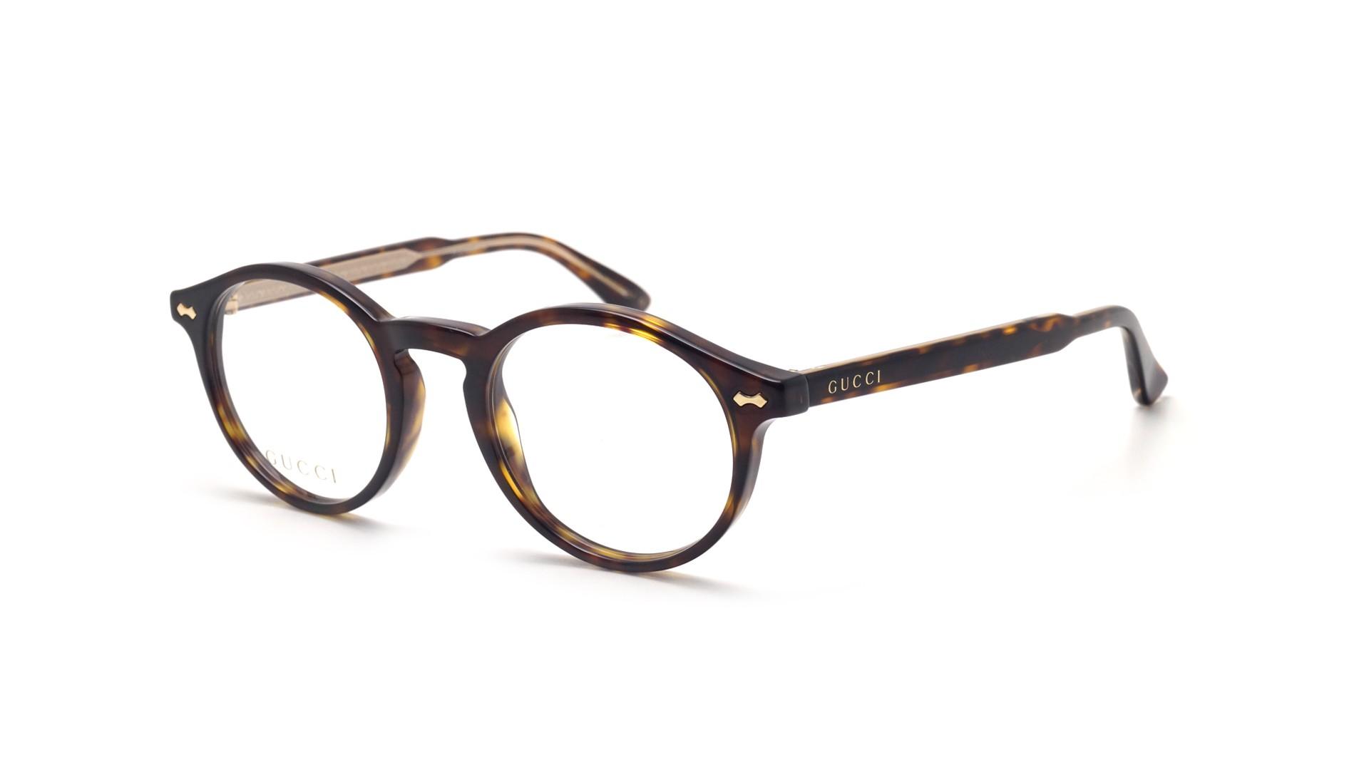 c2762eb8adb Eyeglasses Gucci GG0127O 002 48-21 Tortoise Small