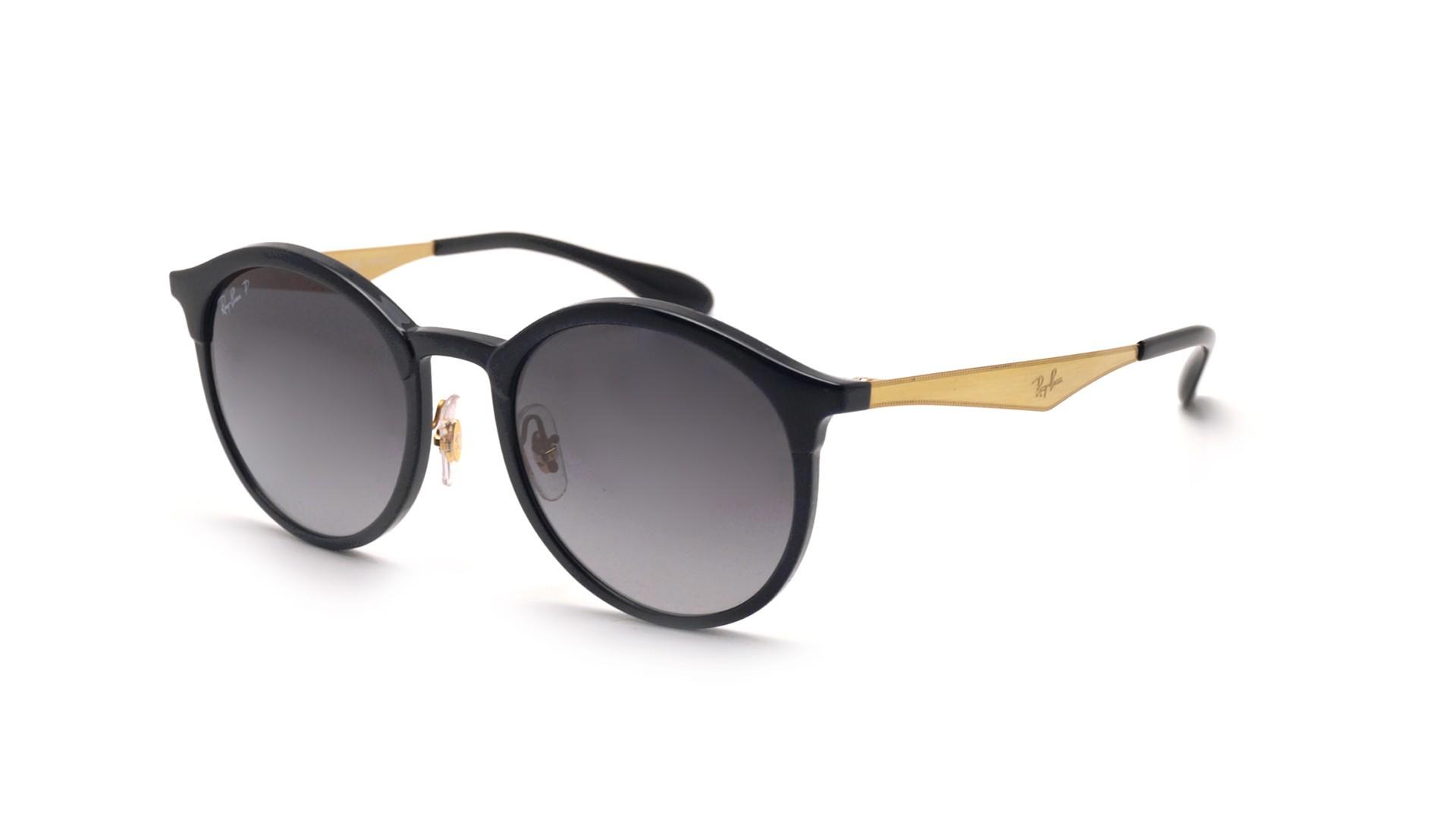 Sunglasses Ray-Ban Emma RB4277 6306 T3 51-21 Black Medium Polarized Gradient af65437aa520