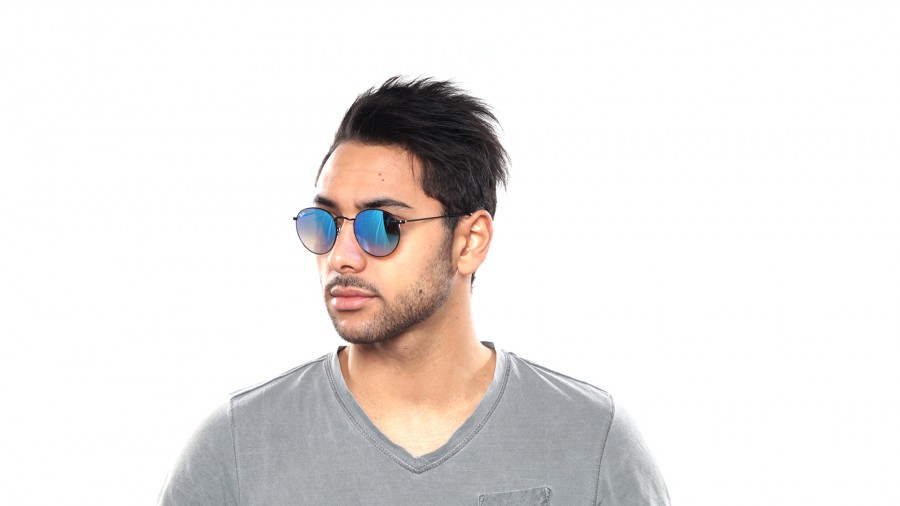 Ray-Ban Round Metal RB3447 002/4O 50-21 g4dFYWd