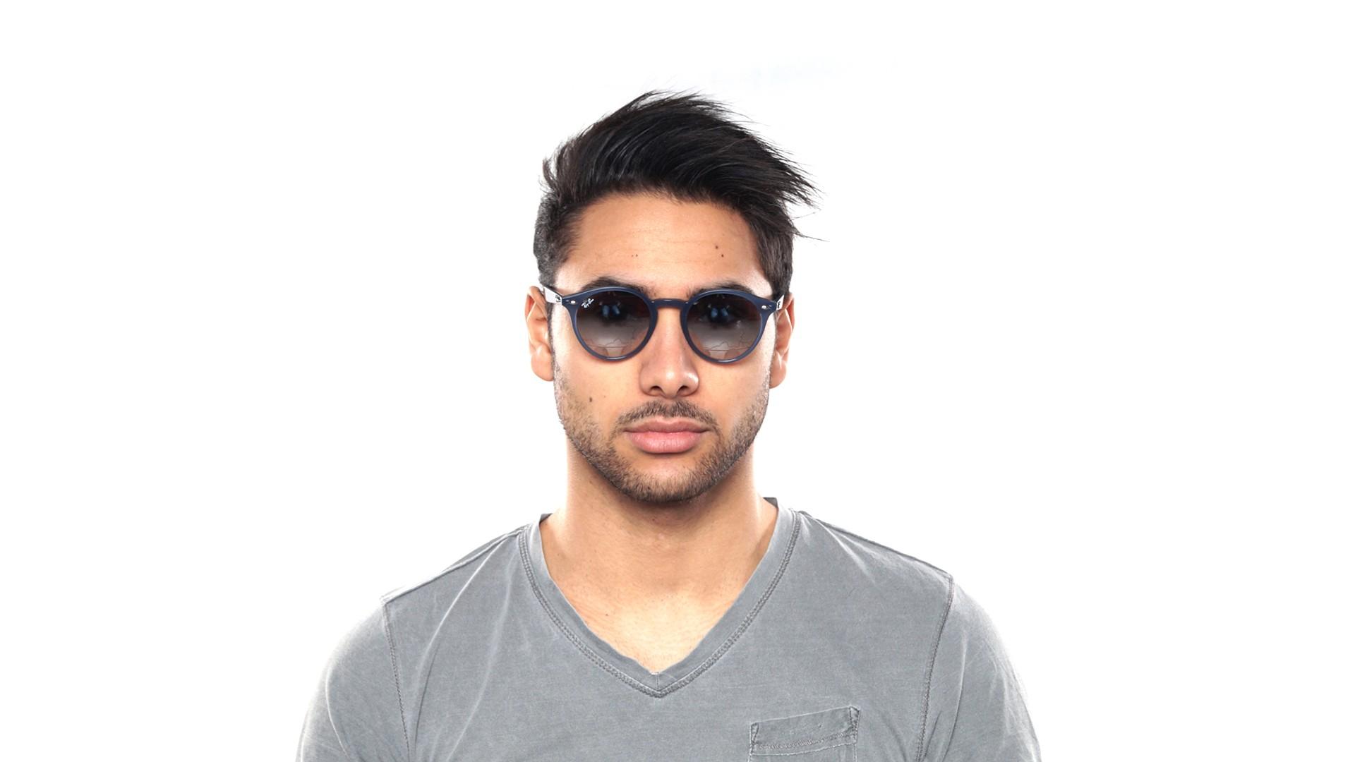 0473368457d Sunglasses Ray-Ban RB2180 62327B 49-21 Blue Medium Gradient Mirror
