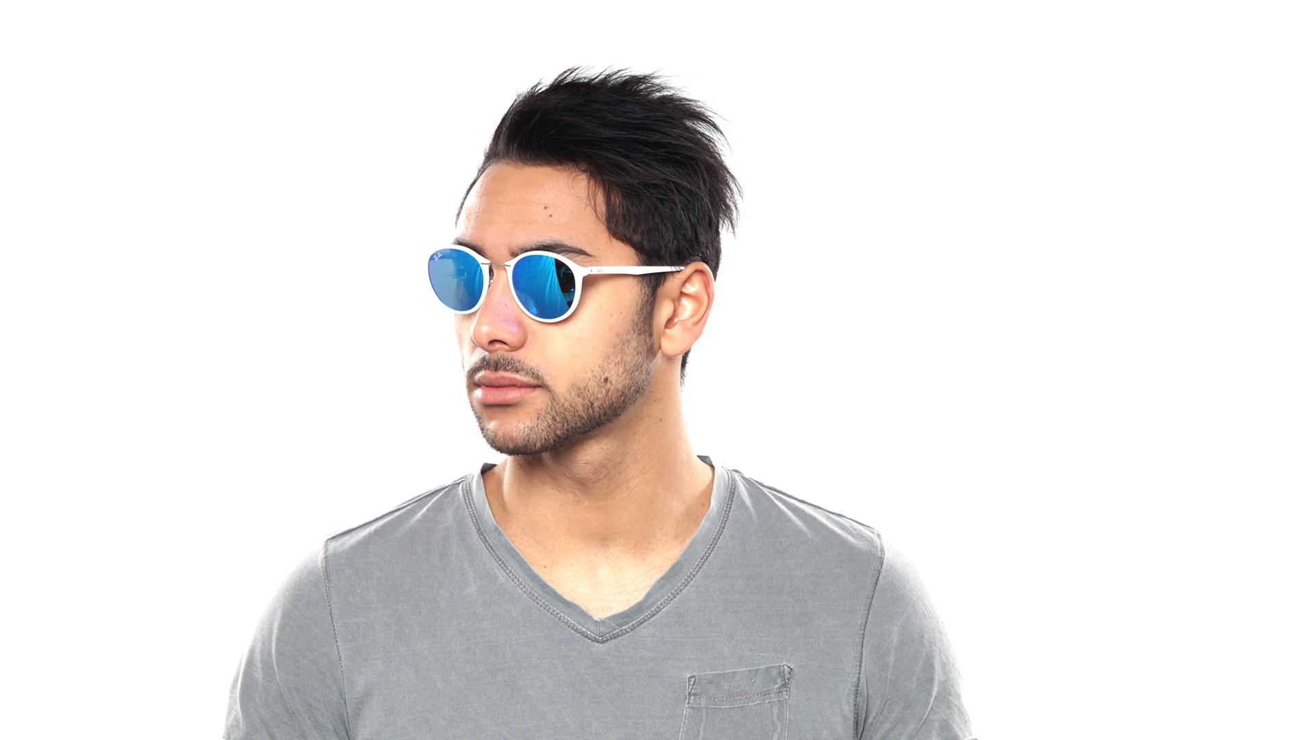 0397d62eb67 ... wholesale sunglasses ray ban tech light ray tech white flash lenses  rb4242 671 55 49 21