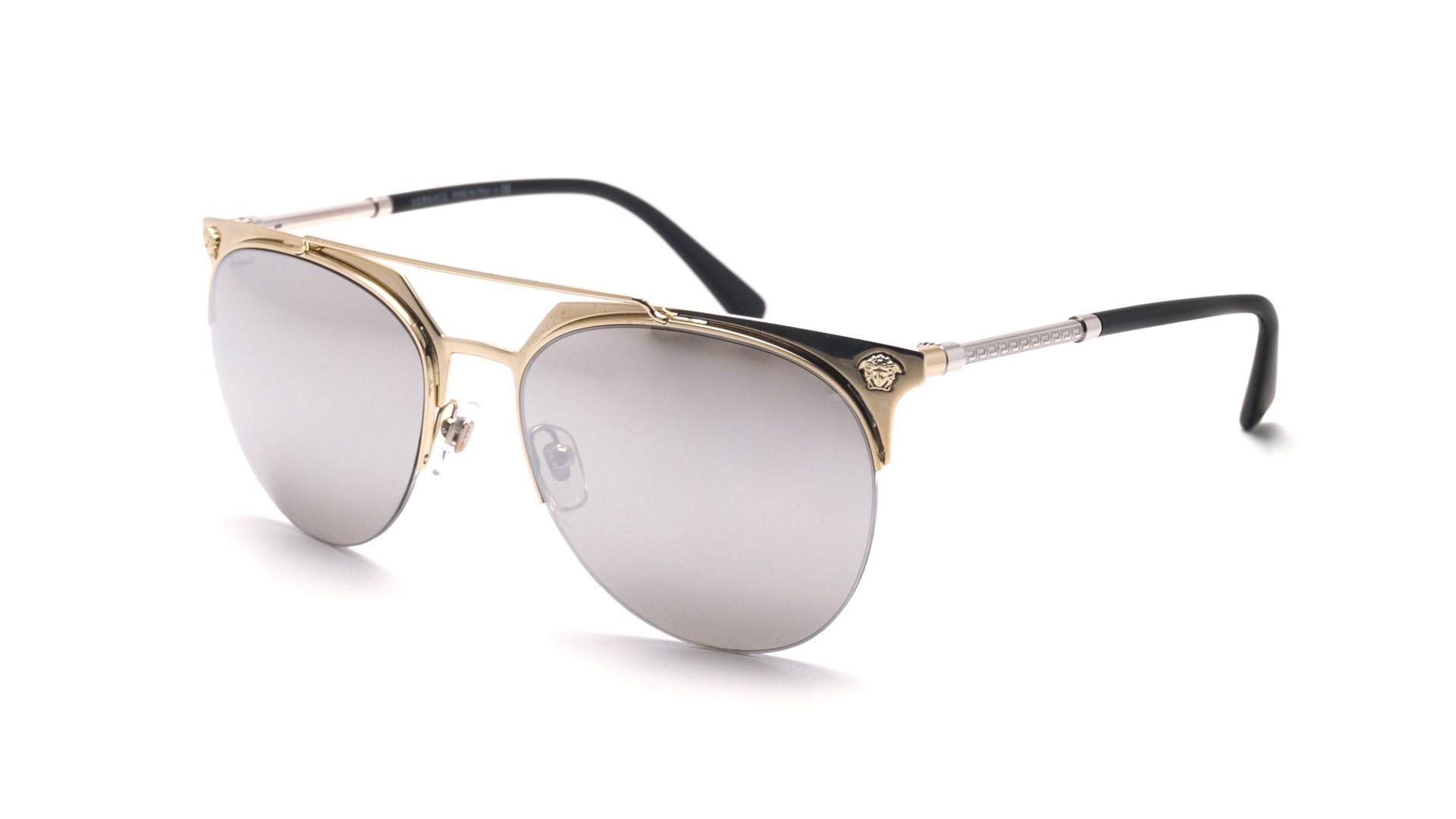 4d4ae20492 Sunglasses Versace Frenergy Gold VE2181 1252 6G 57-18 Large Mirror