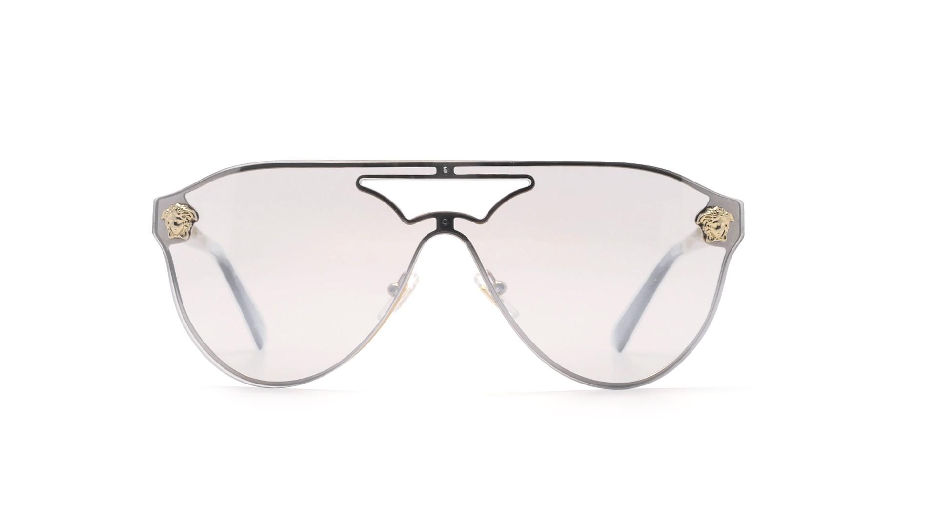 67cc1e91ba3 Lunettes de soleil Versace VE2161 1002 6G Or Large
