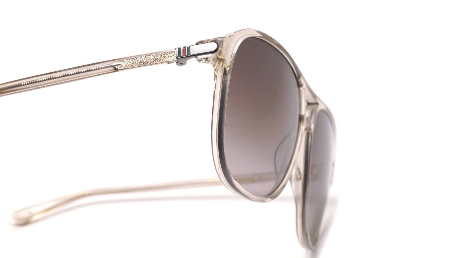 766c925aceb Sunglasses Gucci GG0016S 004 58-14 Clear Large Gradient