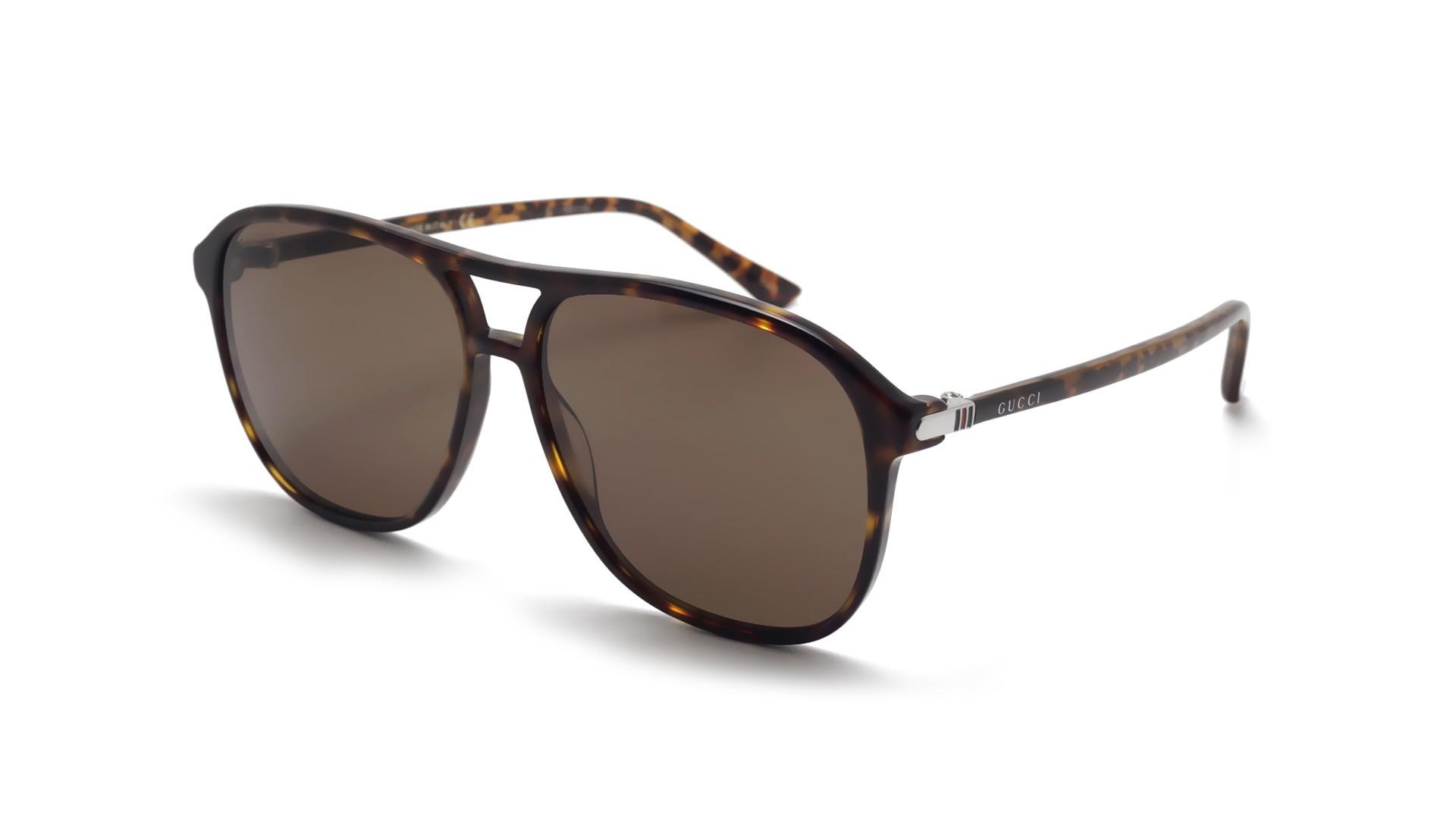 e2c54df64e8 Sunglasses Gucci GG0016S 003 58-14 Tortoise Large Gradient