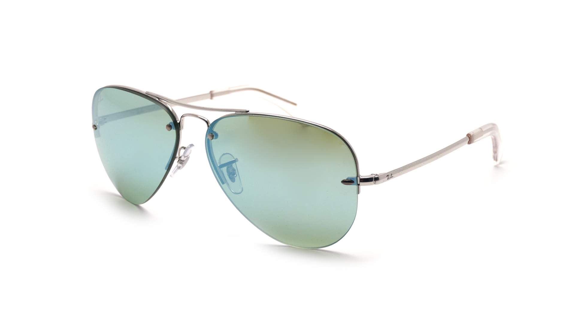 b7adc21d6c8 Sunglasses Ray-Ban RB3449 9043 30 59-14 Silver Large Mirror