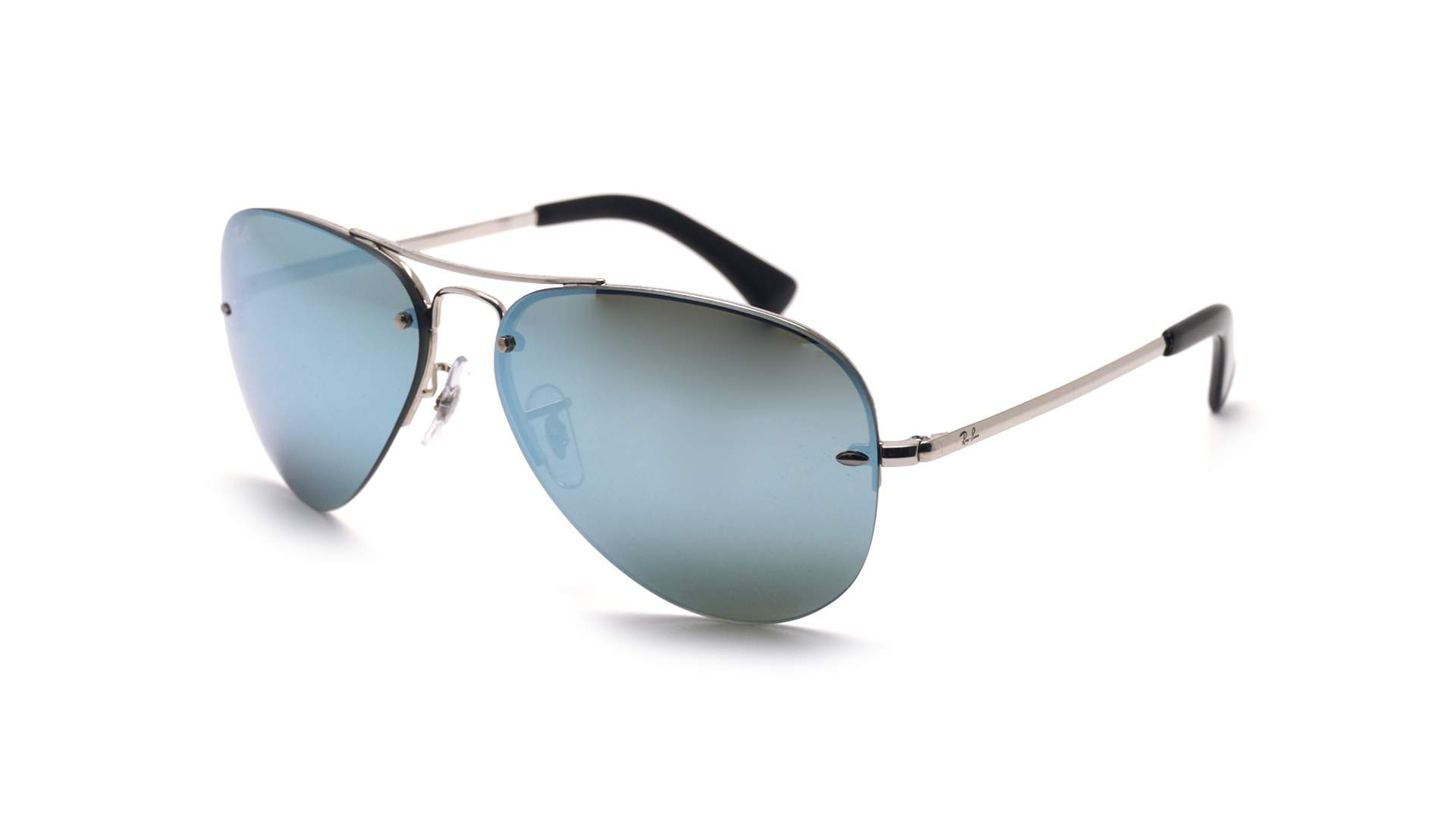 7ce8472659e Sunglasses Ray-Ban RB3449 003 30 59-14 Silver Large Mirror