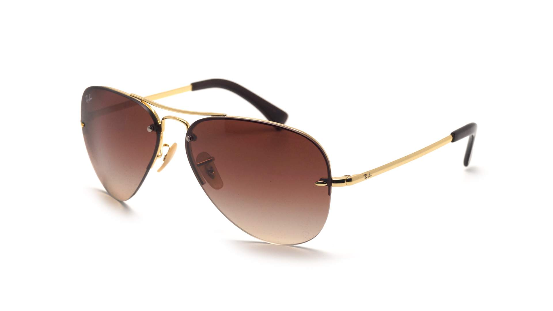 e1f2b60580a Sunglasses Ray-Ban RB3449 001 13 59-14 Gold Large Gradient