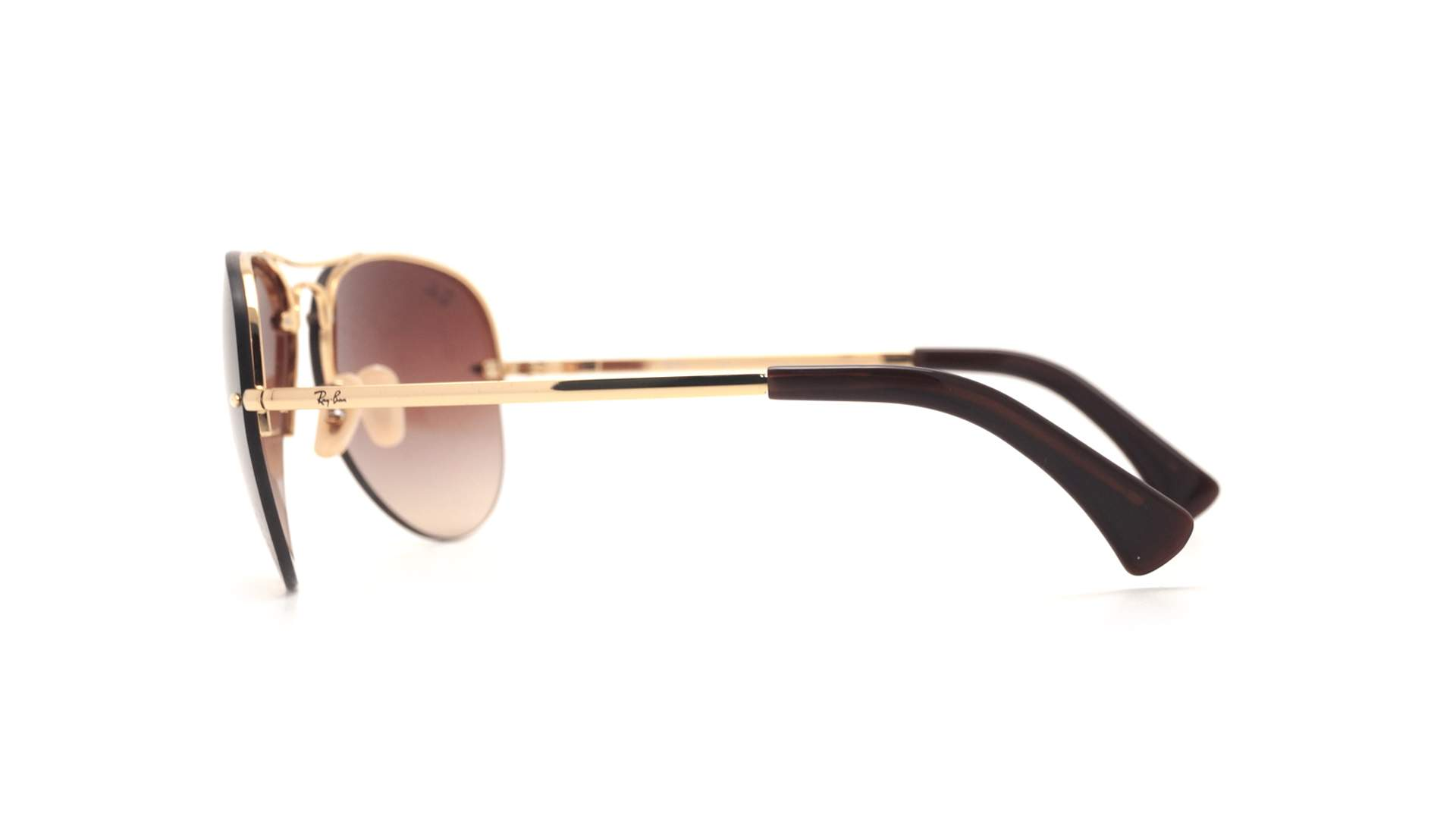 f6837b5caf Sunglasses Ray-Ban RB3449 001 13 59-14 Gold Large Gradient