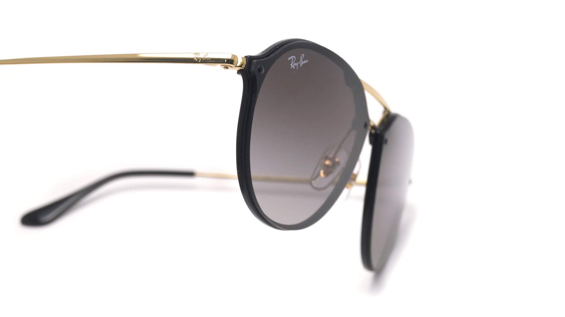 77d6e45949e54 Sunglasses Ray-Ban Blaze Double Bridge Black RB4292N 601 11 62-14 Large  Gradient