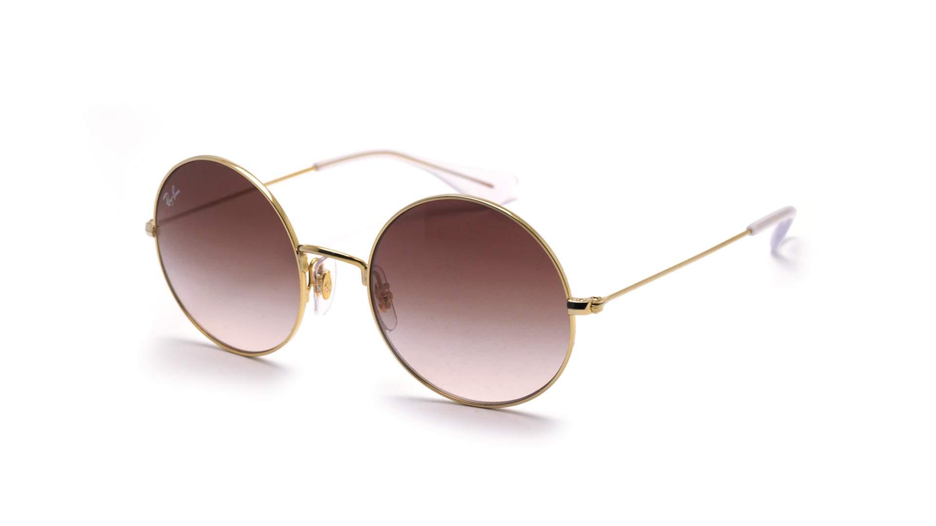 54f74bf6bd Sunglasses Ray-Ban Ja-jo Gold RB3592 001 13 55-20 Large Gradient