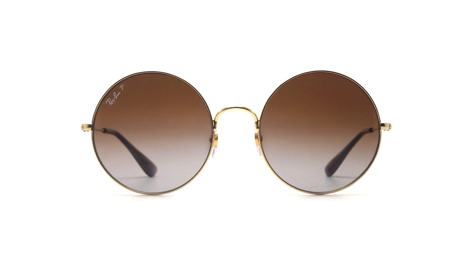 823558fd3 Sunglasses Ray-Ban Ja-jo Gold RB3592 001/T5 50-20 Medium Polarized Gradient