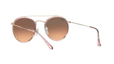 Ray-Ban Round Double Bridge Rose RB3647N 9069/A5 51-22