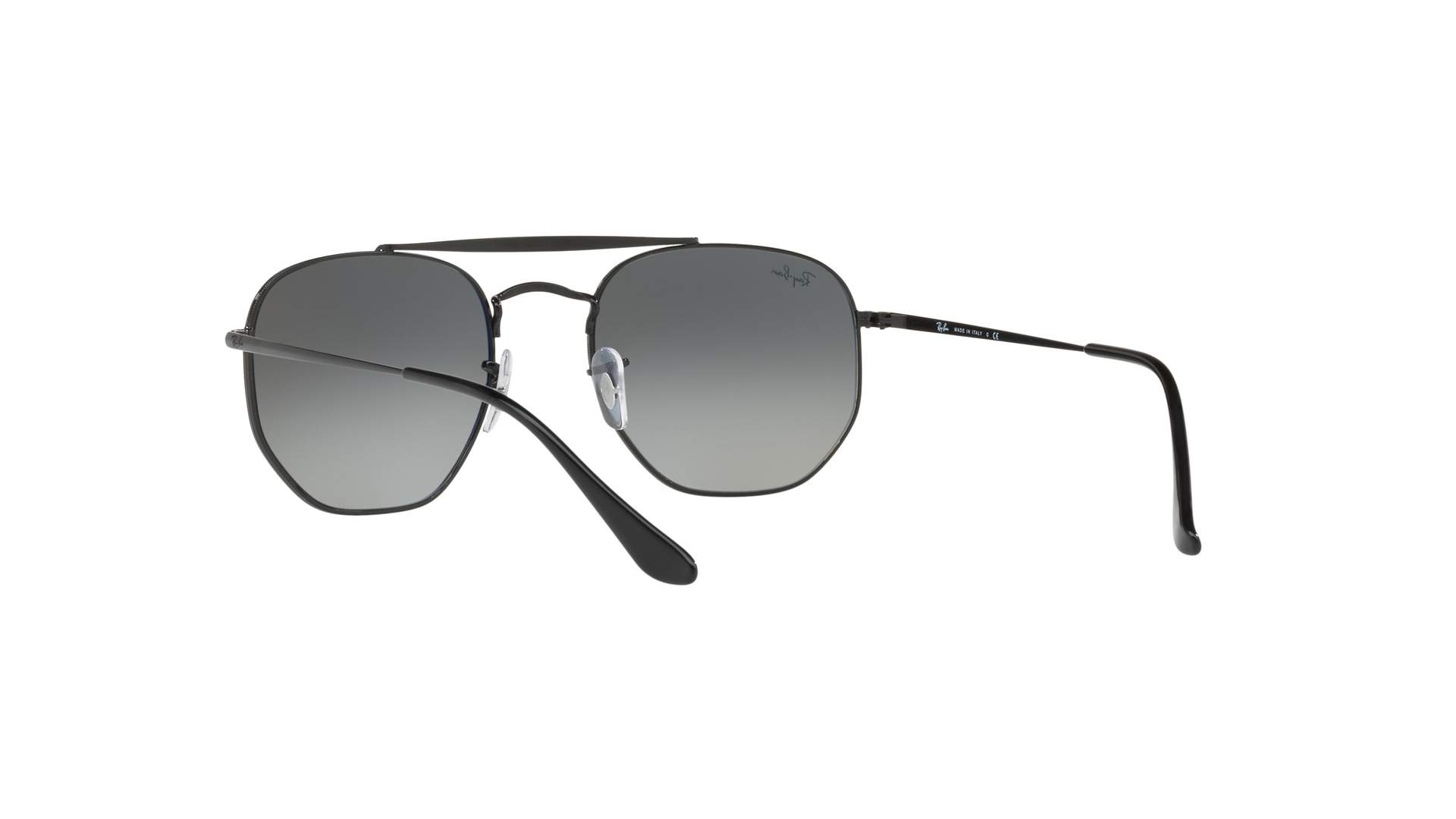 cac7232e46 Sunglasses Ray-Ban Marshal Black RB3648 002 71 51-21 Medium Gradient
