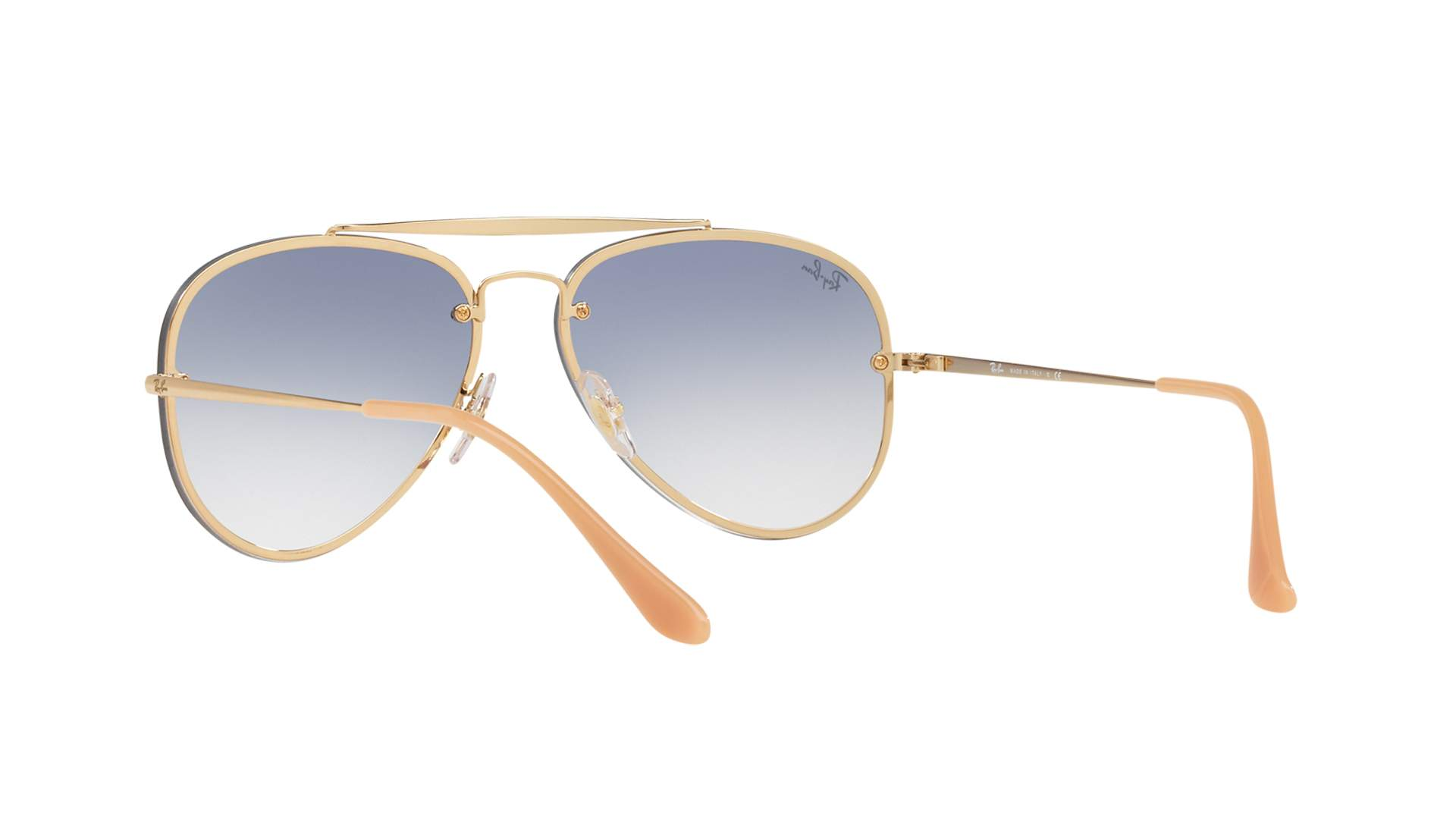 Sunglasses Ray-Ban Blaze Aviator Gold RB3584N 001 19 58-13 Medium Gradient e04d899a47