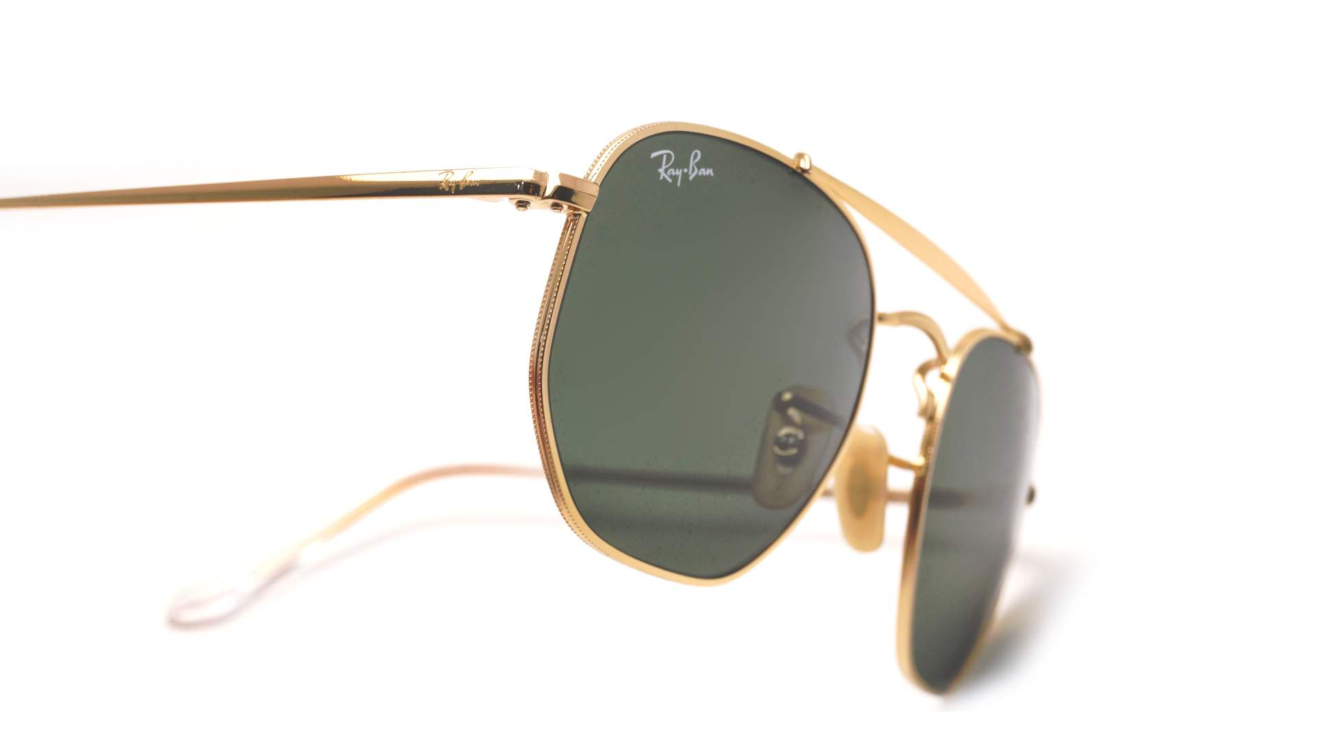 5c32482a2b9 Sunglasses Ray-Ban Marshal Gold G-15 RB3648 001 51-21 Medium
