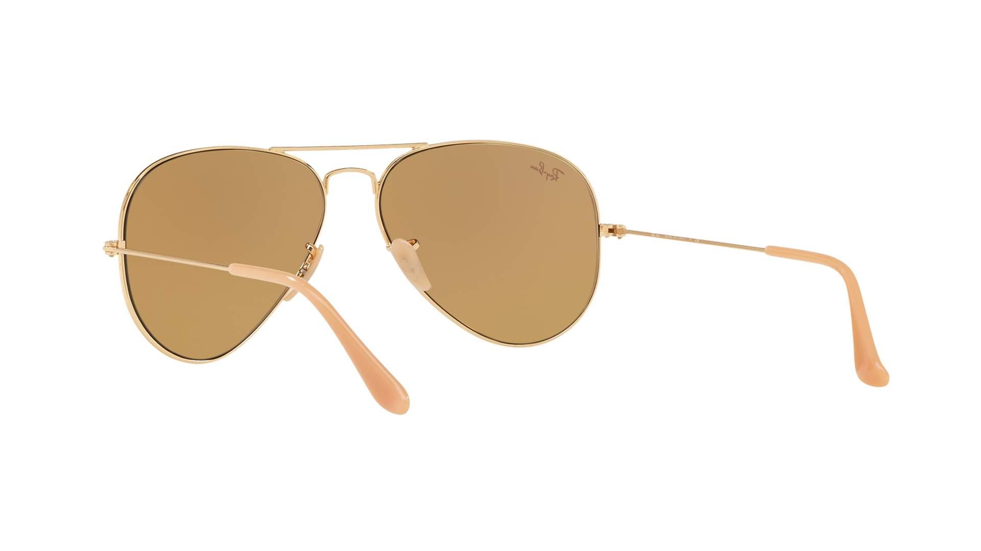 7ce4f83dfe944 Sunglasses Ray-Ban Aviator Evolve Gold RB3025 9064 4I 58-14 Large  Photochromic
