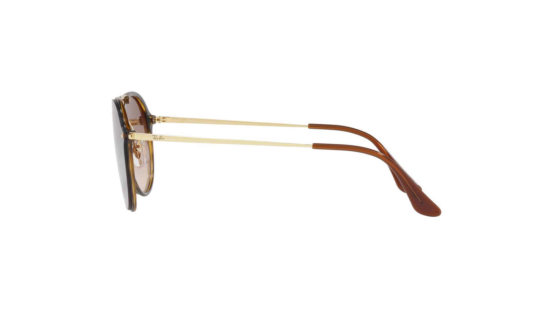 66fecf66dbc Sunglasses Ray-Ban Blaze Double Bridge Gold RB4292N 710 13 62-14 Large  Gradient