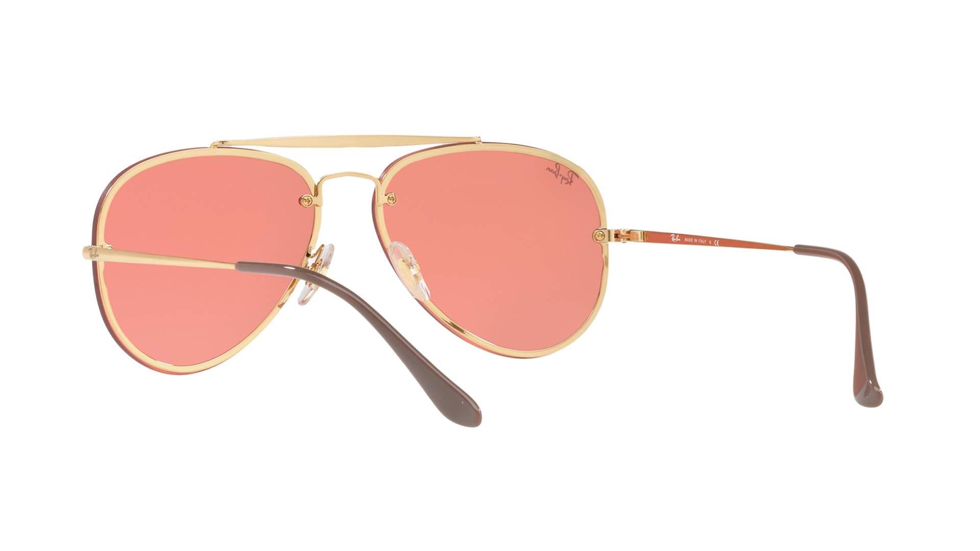 Sunglasses Ray-Ban Blaze Aviator Gold RB3584N 9052 E4 58-13 Medium Mirror 25932ae12716