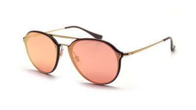 bc5575dcf4a Ray-Ban Blaze Double Bridge Gold RB4292N 6327 E4 62-14 129
