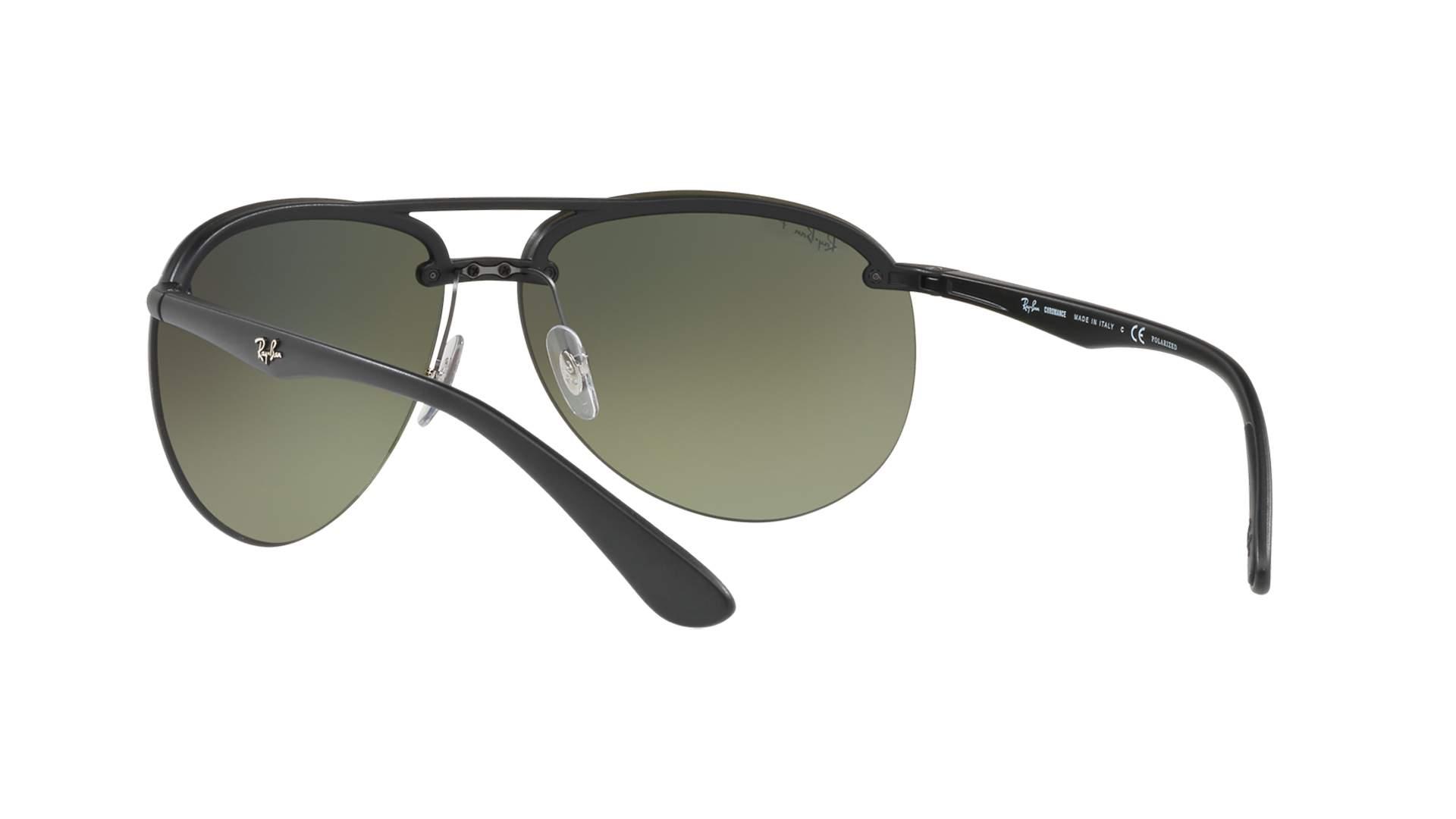 914c00688f8 Sunglasses Ray-Ban RB4293CH 601S 5J 65-13 Black Matte Chromance Large  Polarized Mirror