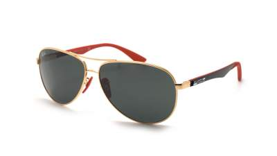 Ray-Ban Aviator Scuderia Ferrari Golden RB8313M F008/71 61-13 164,52 €