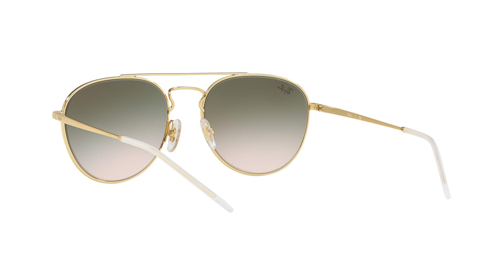 4f75d38c9f Sunglasses Ray-Ban RB3589 9058 2C 55-18 Yellow Medium Gradient