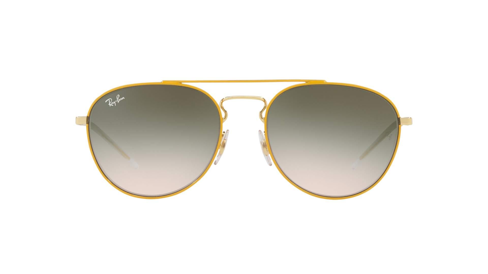 30823359421 Sunglasses Ray-Ban RB3589 9058 2C 55-18 Yellow Medium Gradient