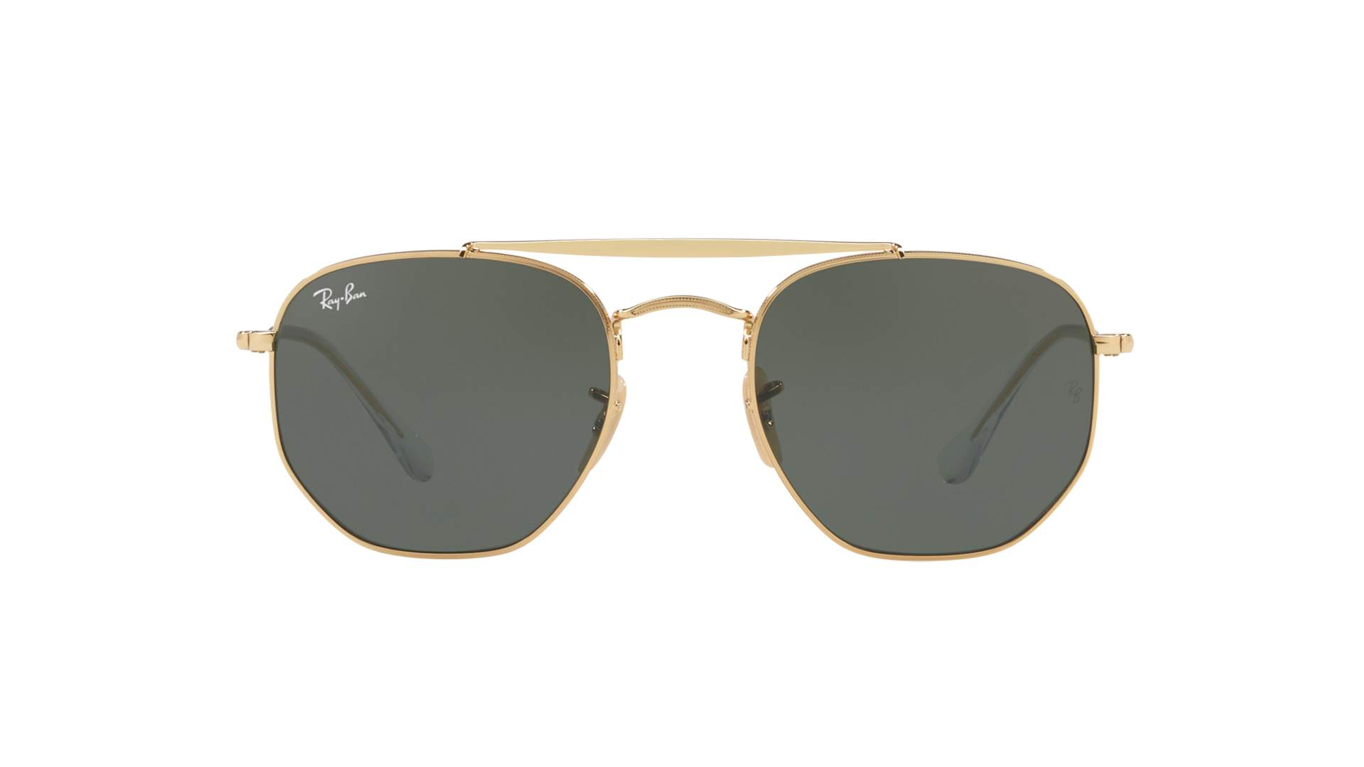 54656eb0f41 Sunglasses Ray-Ban Marshal Gold G-15 RB3648 001 54-21 Large