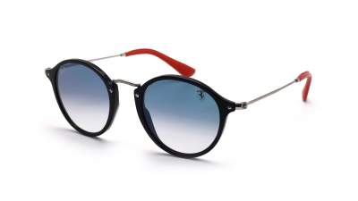 Ray-Ban Round Scuderia Ferrari Black RB2447NM F601/3F 49-21 175,83 €