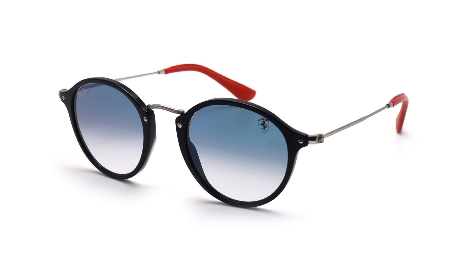26a1194543 Sunglasses Ray-Ban Round Scuderia Ferrari Black RB2447NM F601 3F 49-21  Medium Gradient