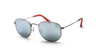 Ray-Ban Hexagonal Scuderia Ferrari Argent RB3548NM F001/30 51-21