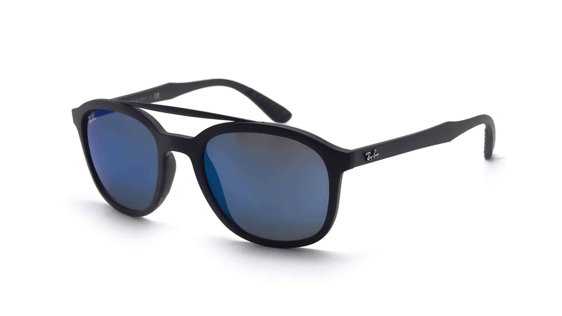 30d7da48d8 Sunglasses Ray-Ban RB4290 601S 55 53-21 Black Matte Large Mirror