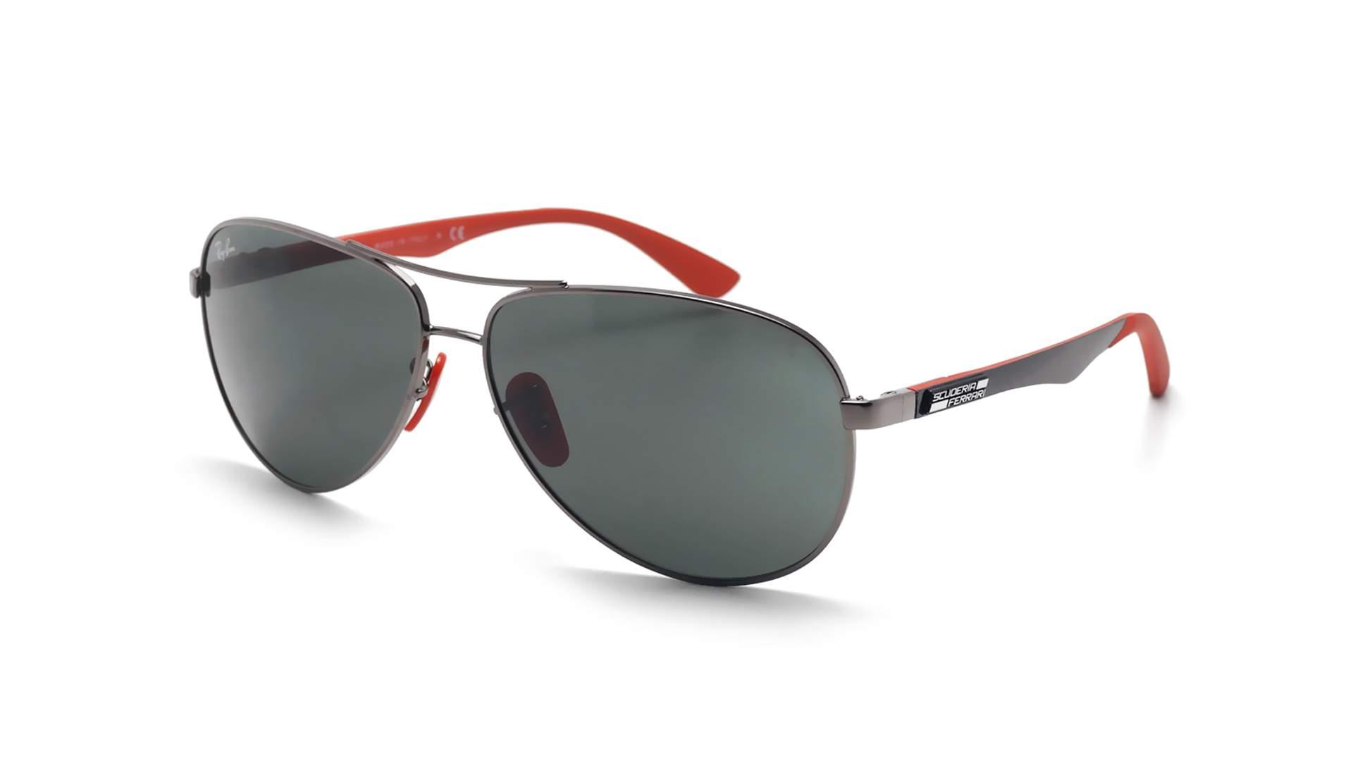 55c077baa2829c Sunglasses Ray-Ban Aviator Scuderia Ferrari Silver RB8313M F00171 61-13  Large