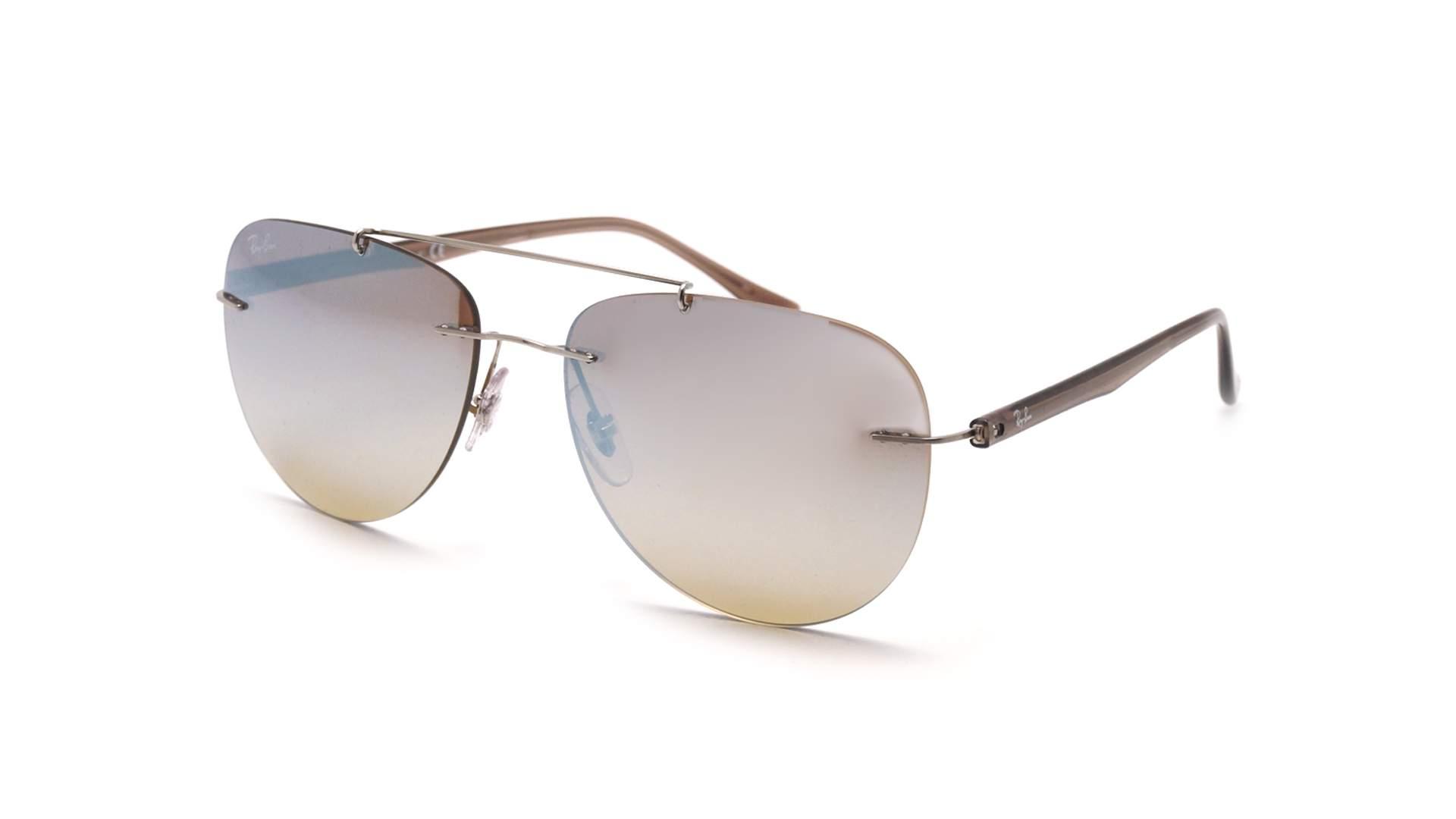 Sunglasses Ray-Ban Light ray Silver RB8059 003 B8 57-16 Medium Gradient  Mirror 8c2d0a929c39