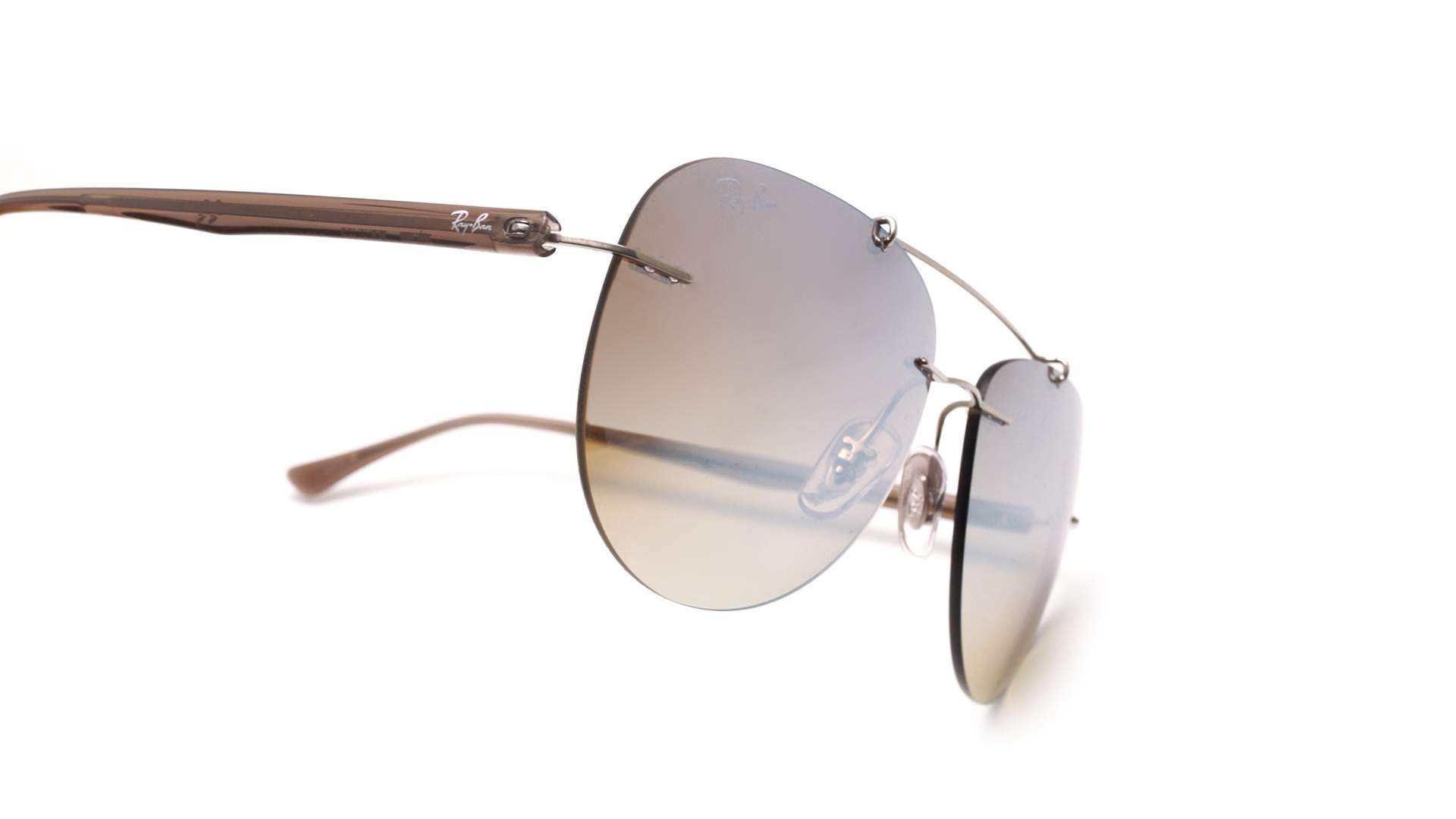 d9299975db Sunglasses Ray-Ban Light ray Silver RB8059 003 B8 57-16 Medium Gradient  Mirror