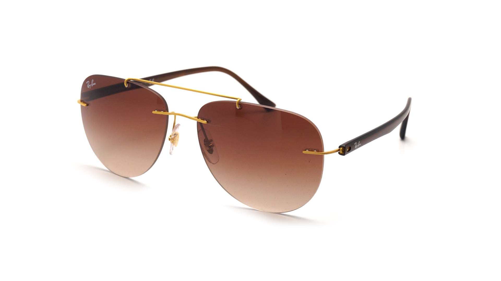 Sunglasses Ray-Ban Light ray Yellow RB8059 157 13 57-16 Medium Gradient 8b4c73b758a9